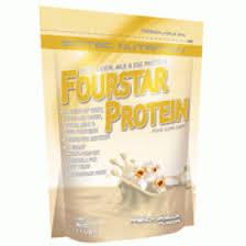 SCITEC NUTRITION FOURSTAR PROTEIN - PROTEINE DI SIERO DEL LATTE, CASEINA, LATTE E UOVO - GUSTO VANIGLIA FRANCESE - 500 G