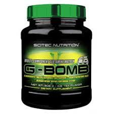 SCITEC NUTRITION G-BOMB 2.0 - MISCELA DI GLUTAMMINA GUSTO TE AL LIMONE - 308 G