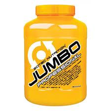 SCITEC NUTRITION JUMBO PROFESSIONAL - GAINER DI ULTIMA GENERAZIONE GUSTO LAMPONE - 3240 G
