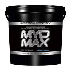 SCITEC NUTRITION MYOMAX - COMPLESSO INCREMENTATIVO ANABOLICO GUSTO CREMA DI LAMPONE - 4540 G