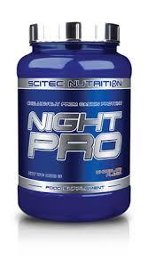 SCITEC NUTRITION NIGHT PRO - CASEINA GUSTO FRAGOLA - 900 G
