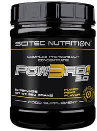 SCITEC NUTRITION POW3RD 2.0 - CONCENTRATO COMPLESSO PRE WORKOUT GUSTO PERA GUSTO INTENSO - 350 G