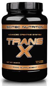 SCITEC NUTRITION TRANS X - SISTEMA AVANZATO DI CREATINA GUSTO LIMONE - 908 G