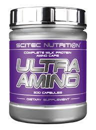 SCITEC NUTRITION ULTRA AMINO - CAPSULE COMPLESSE DI PROTEINE DEL LATTE - 200 CAPSULE