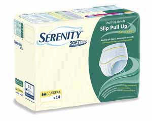 SERENITY SLIP PULL UP BE FREE SOFT DRY TRASPIRANTE ASSORBENZA EXTRA - TAGLIA M - 14 PEZZI