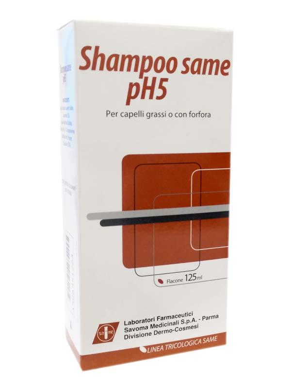SHAMPOO SAME pH 5 CAPELLI GRASSI O CON FORFORA 125 ML