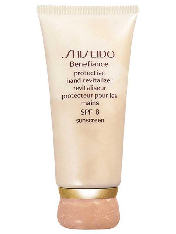 SHISEIDO BENEFIANCE PROTECTIVE HAND REVITALIZER CREAM  SPF8 - 75 ML