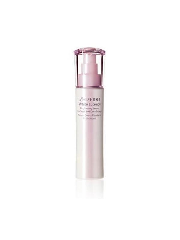 SHISEIDO WHITE LUCENCY PERFECT RADIANCE BRIGHTENING SERUM FOR NECK AND DECOLLETAGE 75 ML