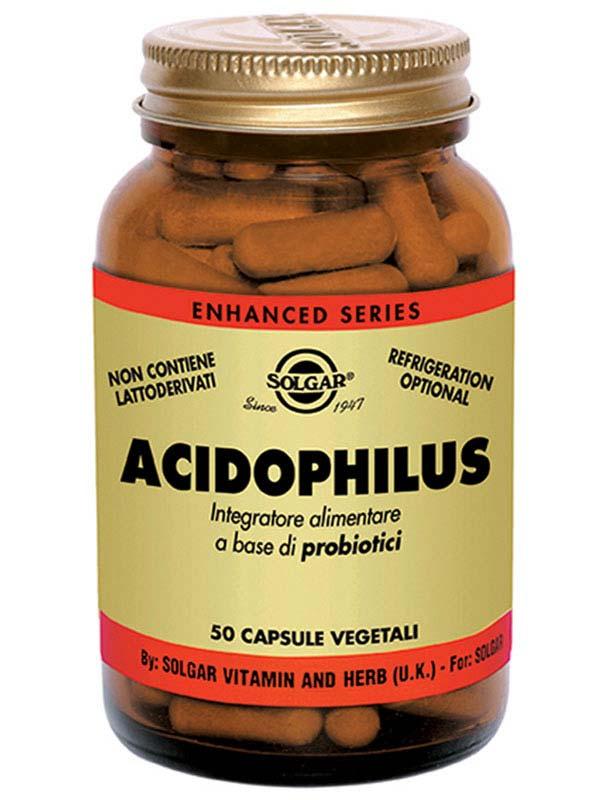 SOLGAR ACIDOPHILUS 50 CAPSULE