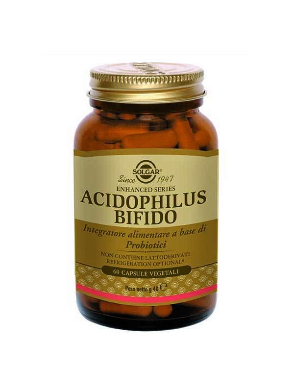 SOLGAR ACIDOPHILUS BIFIDO 60 CAPSULE