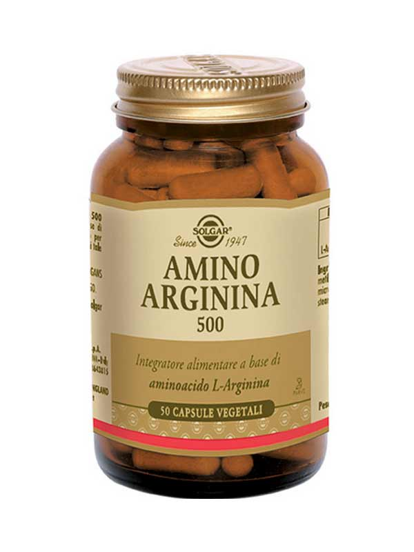 SOLGAR® AMINO ARGININA 500 50 CAPSULE