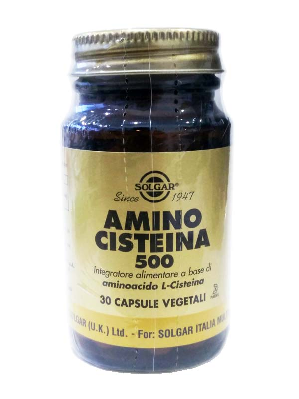 SOLGAR AMINO CISTEINA 500 30 CAPSULE