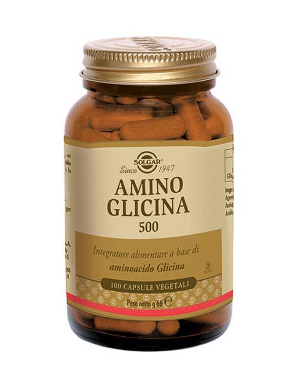 SOLGAR® AMINO GLICINA 500 100 CAPSULE