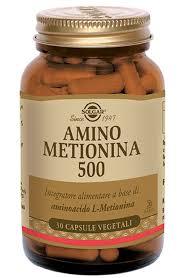 SOLGAR AMINO METIONINA 500 30 CAPSULE