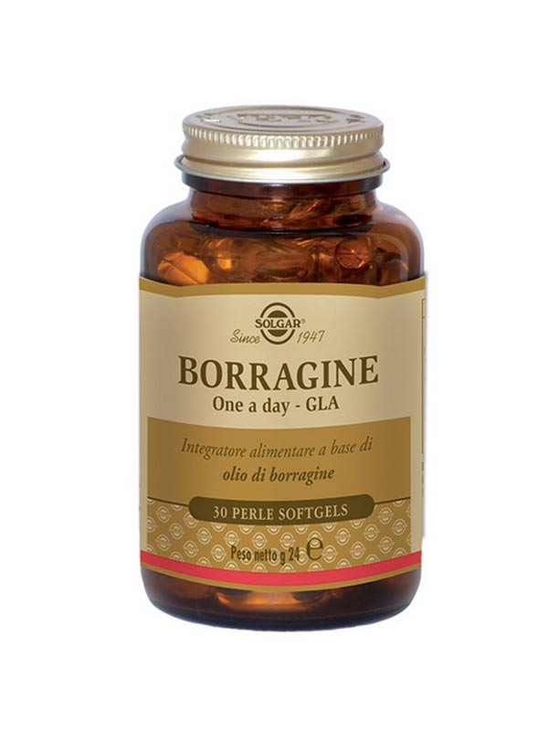 SOLGAR® BORRAGINE ONE A DAY GLA 30 PERLE