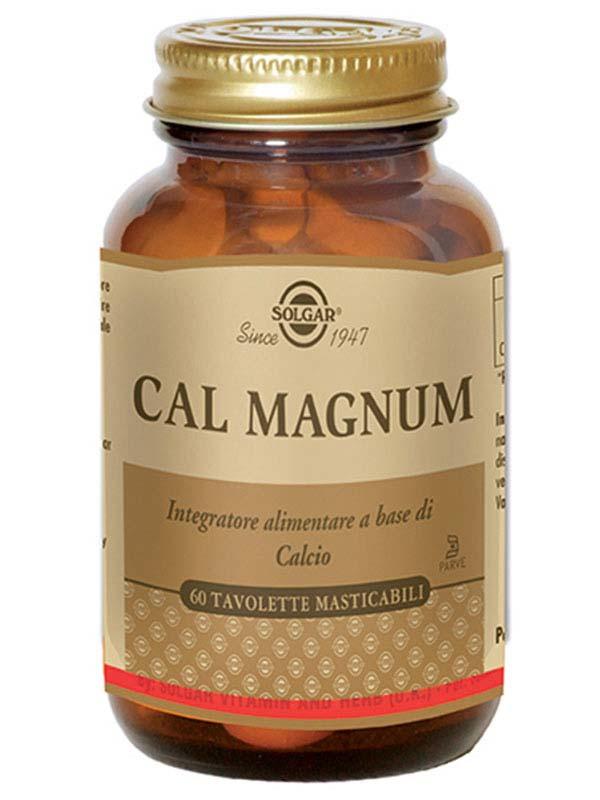 SOLGAR® CAL MAGNUM 60 TAVOLETTE