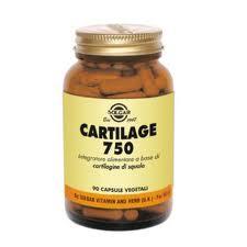 SOLGAR CARTILAGE 750 INTEGRATORE ALIMENTARE 45 CAPSULE