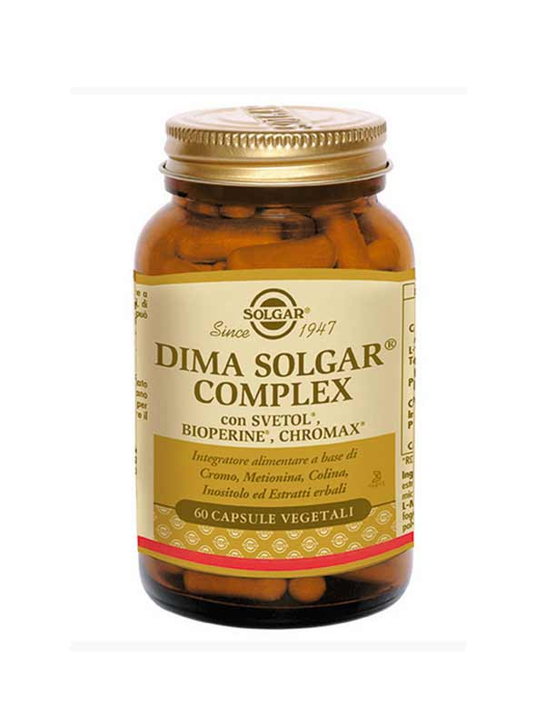 SOLGAR DIMA SOLGAR COMPLEX 60 CAPSULE