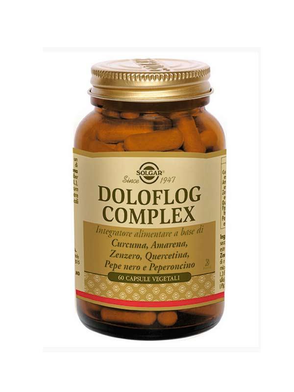 SOLGAR DOLOFLOG COMPLEX 60 CAPSULE