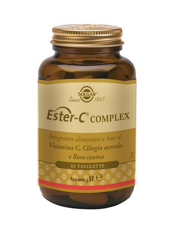 SOLGAR® ESTER C COMPLEX 60 TAVOLETTE