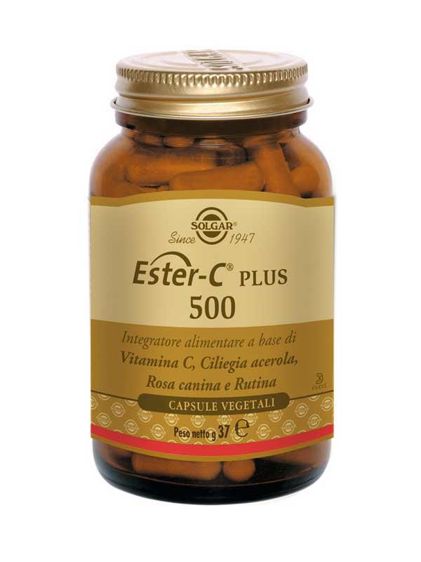 SOLGAR® ESTER C PLUS 500 100 CAPSULE