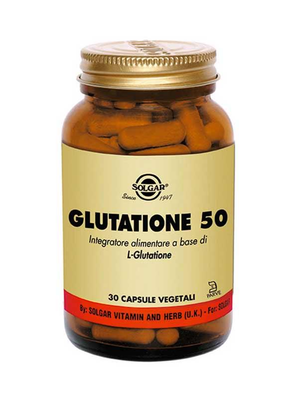 SOLGAR GLUTATIONE 50 30 CAPSULE