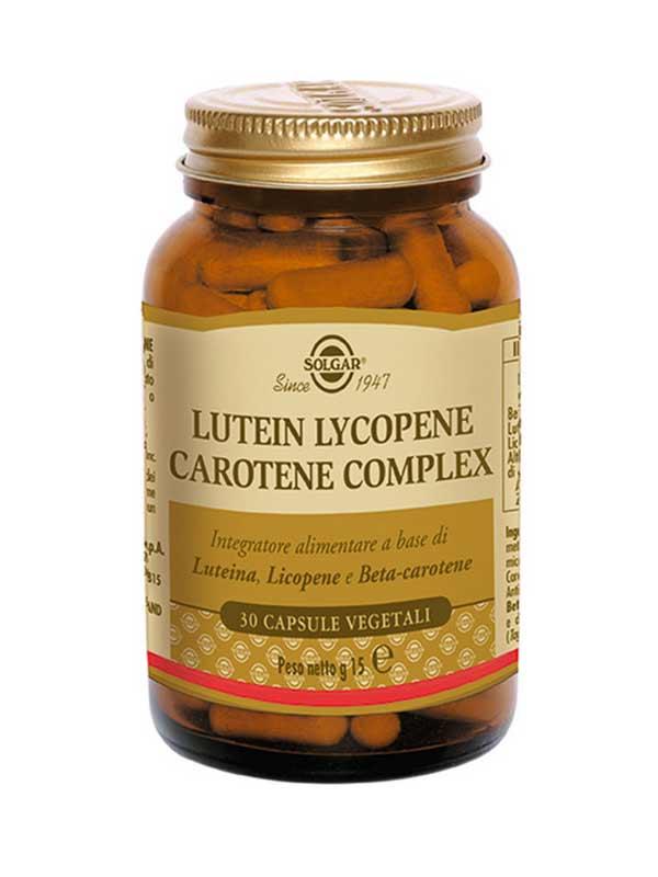 SOLGAR® LUTEIN LYCOPENE CAROTENE COMPLEX 30 CAPSULE