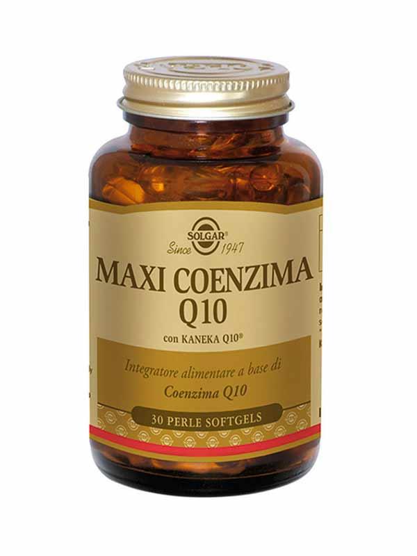 SOLGAR® MAXI COENZIMA Q10 30 PERLE SOFTGELS