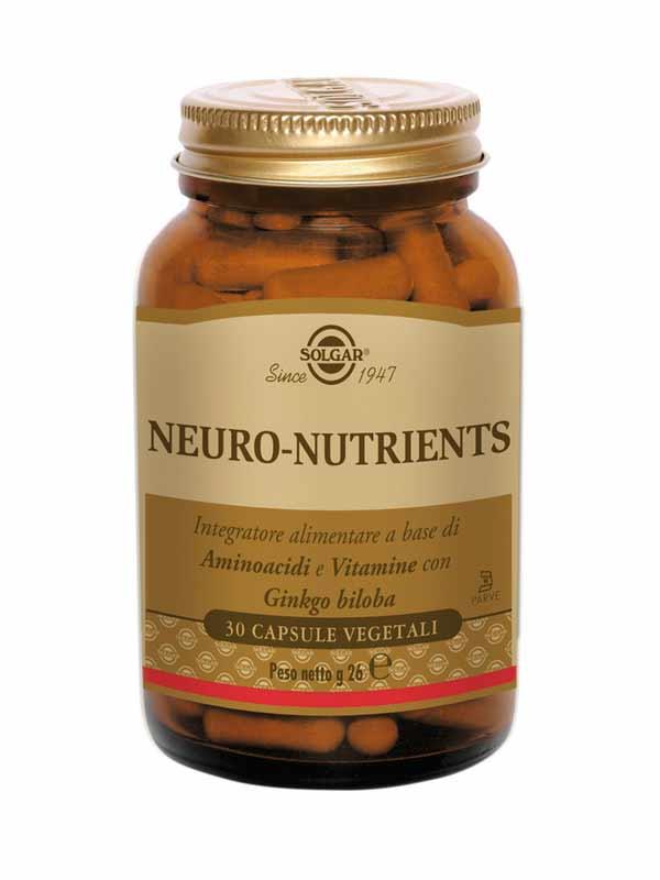 SOLGAR® NEURO NUTRIENTS 30 CAPSULE