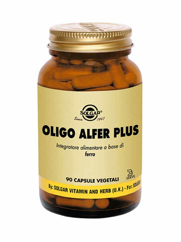 SOLGAR OLIGO ALFER PLUS 90 CAPSULE