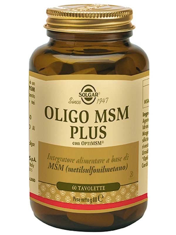 SOLGAR® OLIGO MSM PLUS 60 TAVOLETTE