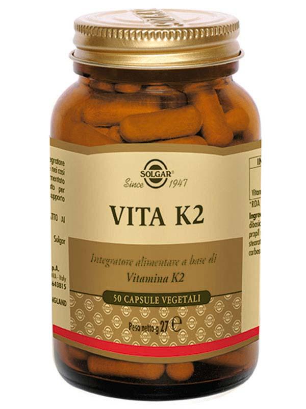 SOLGAR® VITA K2 50 CAPSULE