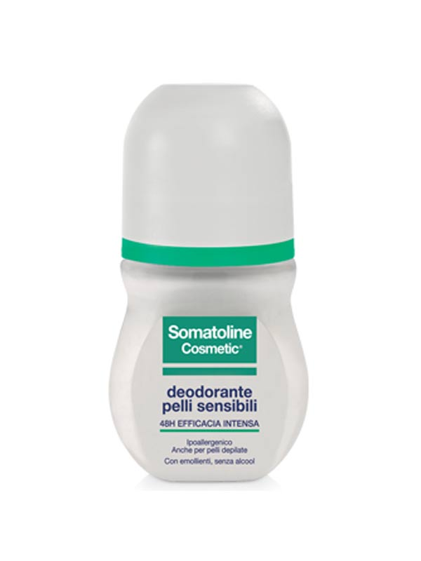SOMATOLINE COSMETIC® DEODORANTE ROLL ON PELLI SENSIBILI 50 ML