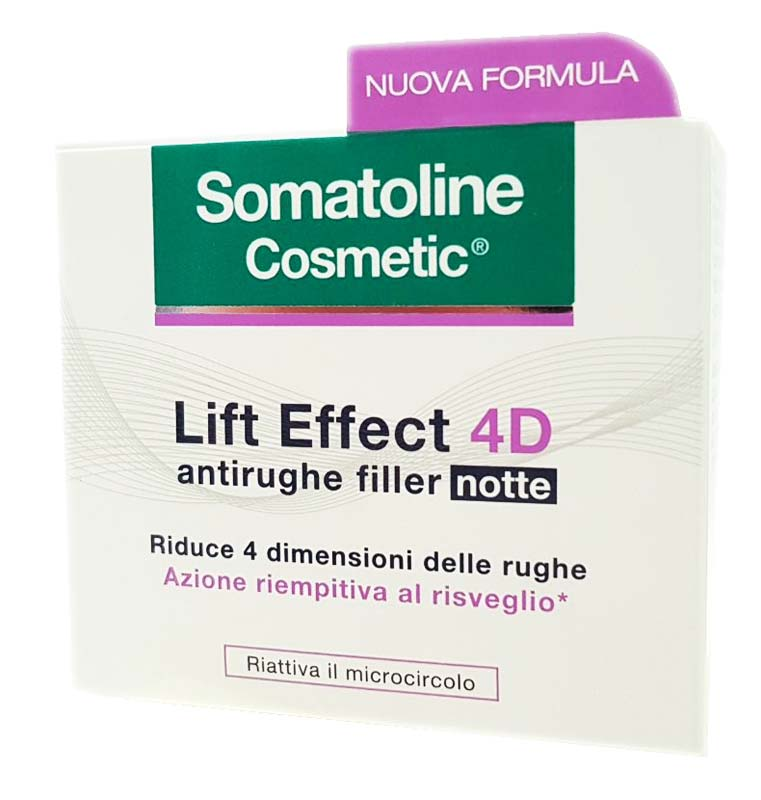 SOMATOLINE COSMETIC LIFT EFFECT 4D ANTIRUGHE FILLER NOTTE 50 ML