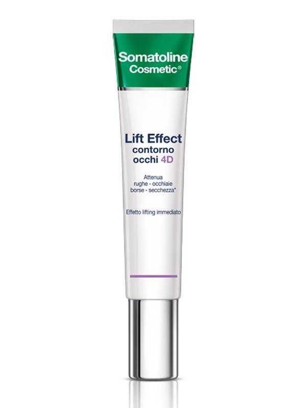 SOMATOLINE COSMETIC LIFT EFFECT CONTORNO OCCHI 4D 15 ML