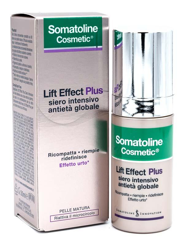 SOMATOLINE COSMETIC LIFT EFFECT PLUS SIERO INTENSIVO ANTIETA GLOBALE 30 ML