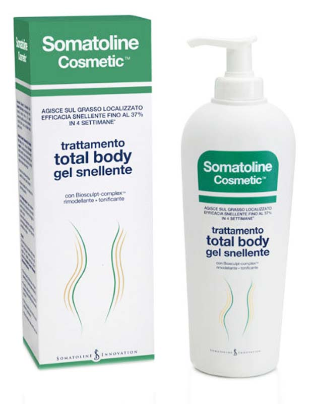 SOMATOLINE COSMETIC® TOTAL BODY GEL SNELLENTE TONIFICANTE 400 ML