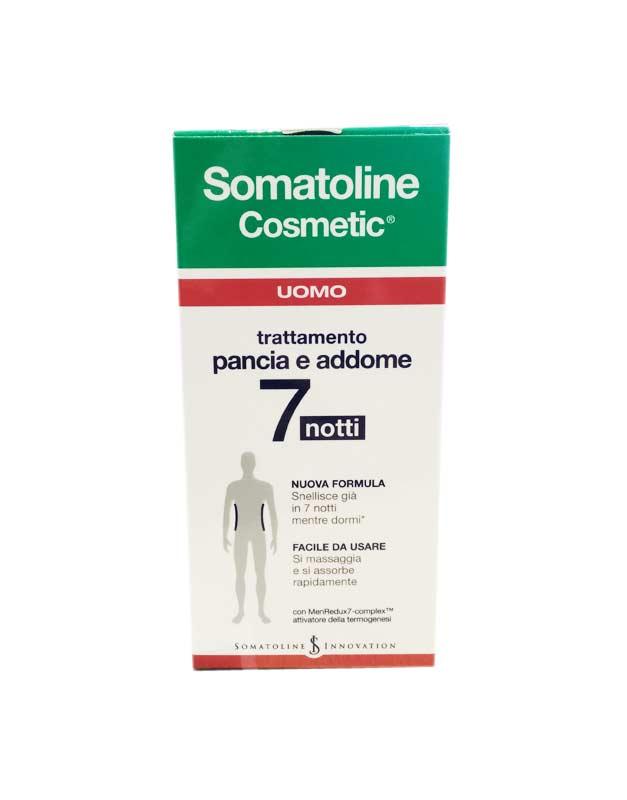 SOMATOLINE COSMETIC UOMO TRATTAMENTO PANCIA E ADDOME 7 NOTTI 150 ML