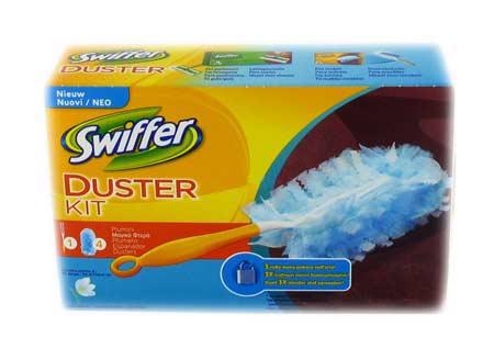 SWIFFER DUSTER KIT + 4 PANNI PROFUMATI