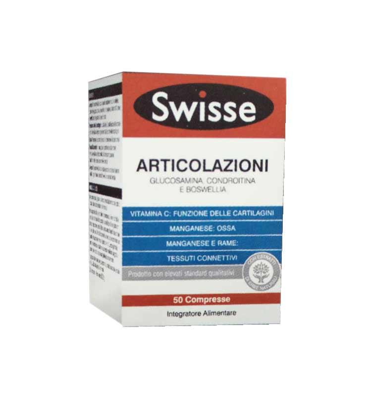 SWISSE ARTICOLAZIONI INTEGRATORE PER LA SALUTE DELLE ARTICOLAZIONI - 50 COMPRESSE