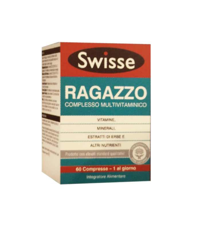 SWISSE RAGAZZO COMPLESSO MULTIVITAMINICO INTEGRATORE ALIMENTARE - 60 COMPRESSE