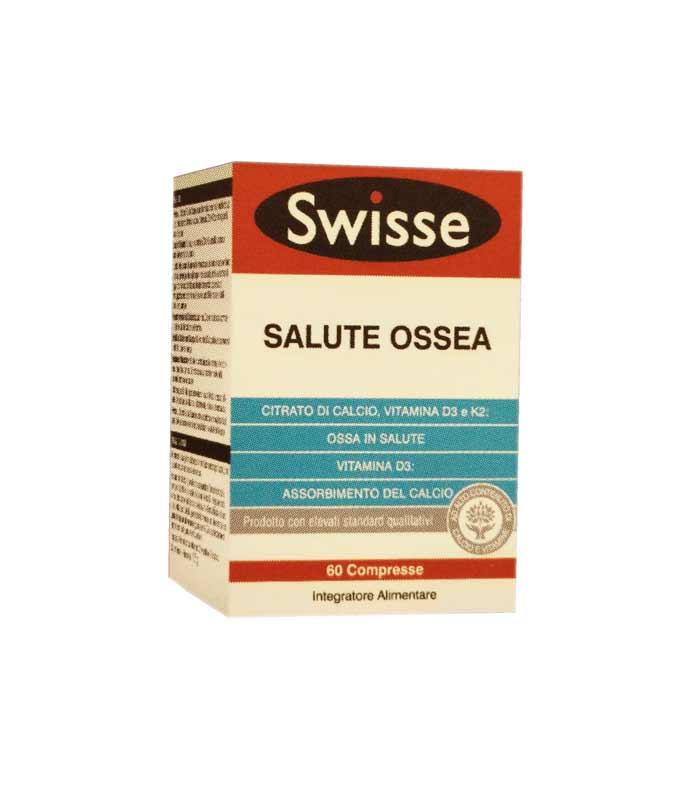 SWISSE SALUTE OSSEA INTEGRATORE PER IL MANTENIMENTO DI OSSA SANE - 60 COMPRESSE