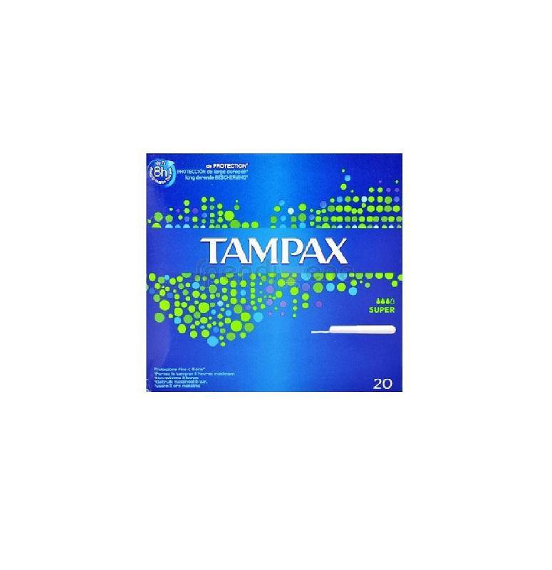 TAMPAX SUPER - 20 PEZZI