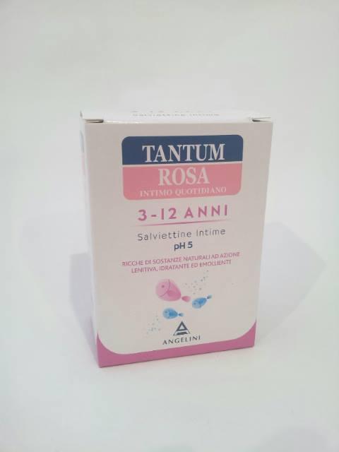 TANTUM ROSA 3-12 ANNI - SALVIETTINE INTIME pH 5 - 10 BUSTINE MONODOSE