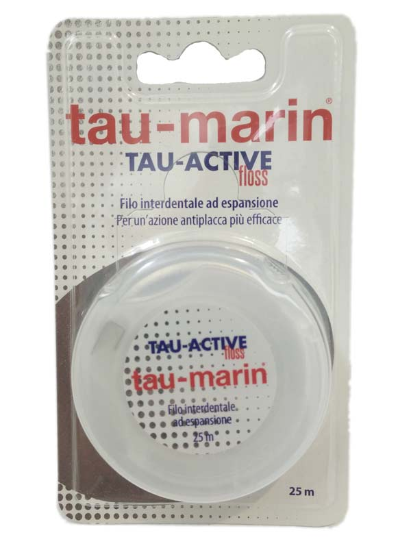 TAU-MARIN FILO INTERDENTALE TAU-ACTIVE 25 M