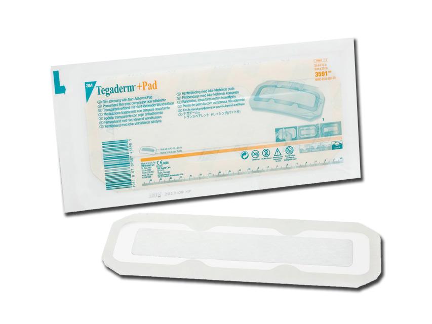TEGADERM™ + PAD 3M - 9 x 25 cm - sterile