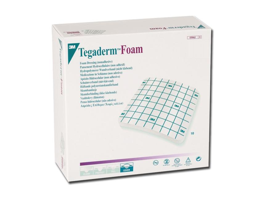 TEGADERM™ 3M FOAM - 9 x 9 cm - non adesivo