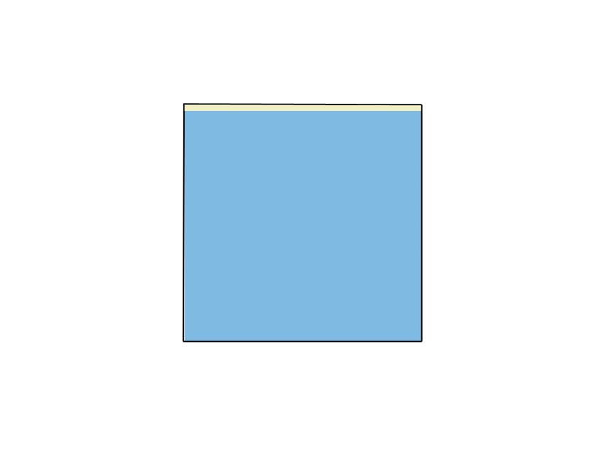 TELO CHIRURGICO - 100 x 100 cm - con lato adesivo