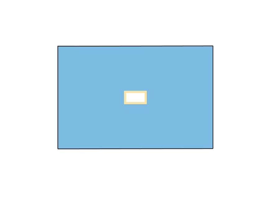 TELO CHIRURGICO - 100 x 150 cm - con foro 9 x 18 cm