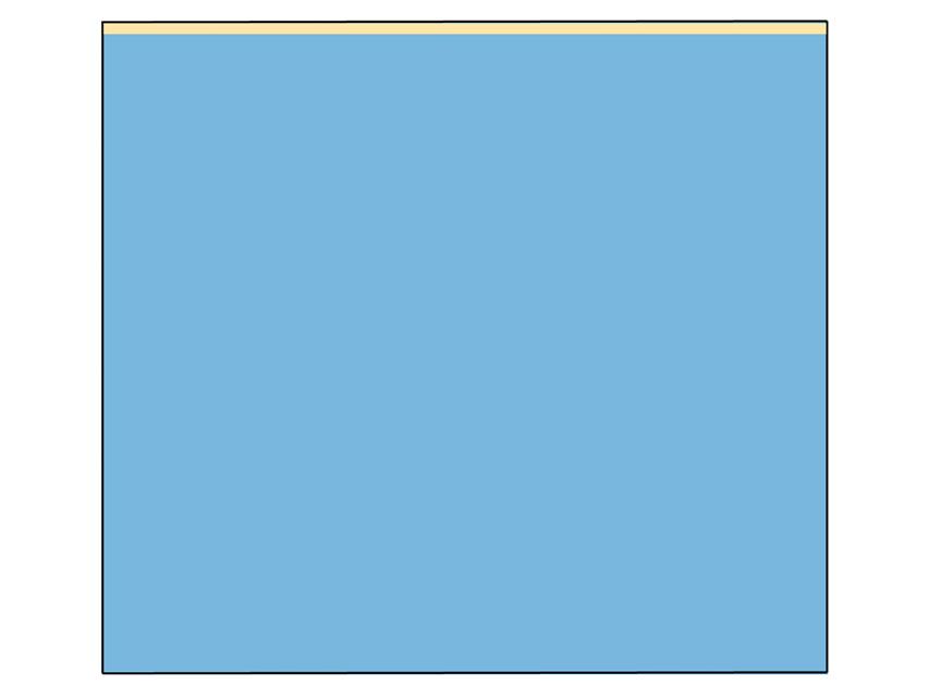 TELO CHIRURGICO - 180 x 200 cm - con lato adesivo